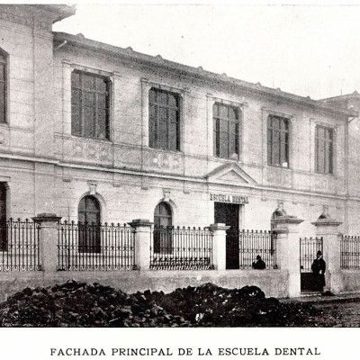 historia-escuela-dental-de-chile_Fachada-Principal-Escuela-Dental