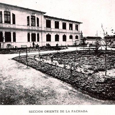 historia-escuela-dental-de-chile_Seccion-oriente-fachada