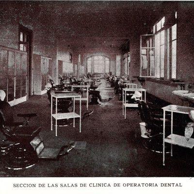 historia-escuela-dental-de-chile_Seccion-salas-operatoria-dental